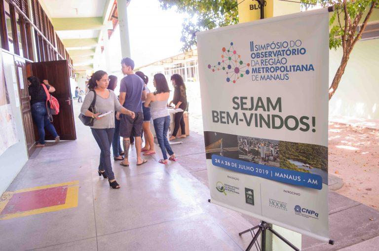 II Simpósio do Observatório da Região Metropolitana de Manaus