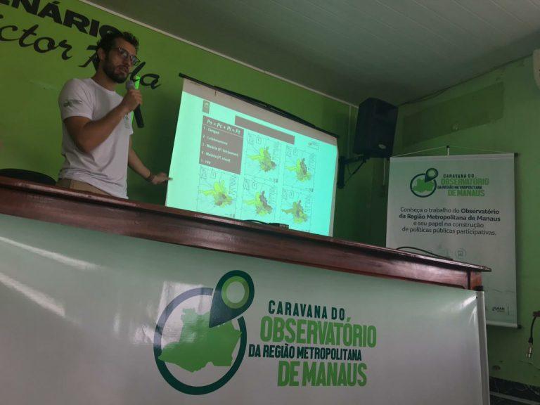 I Caravana do Observatório da Região Metropolitana de Manaus